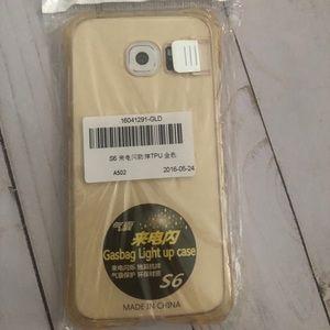 Samsung s6 light up phone case
